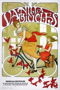 Vanilla Bicycles poster