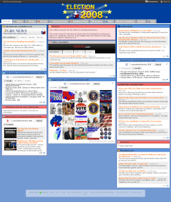 Election 2008 screenshot
